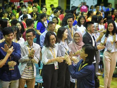 Student leaders urged to be kind, serve community