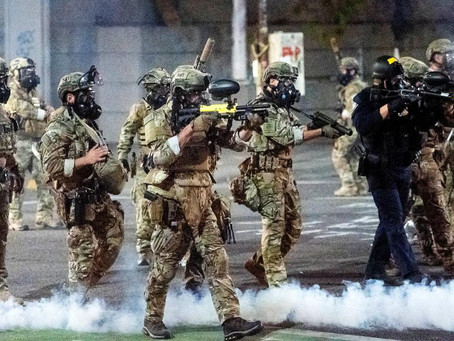President Biden Sends Federal Police To Quell Protests in Republican Controlled Cities: Imagine That