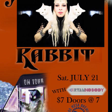 Nobody Opening for Von Rabbit