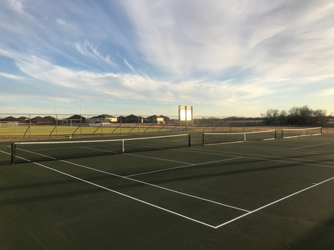 Canyon Middle School Tennis Courts