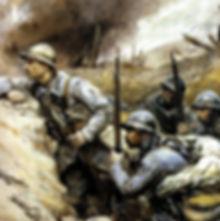 14-18 mes héros ,batailles dans les tranchées