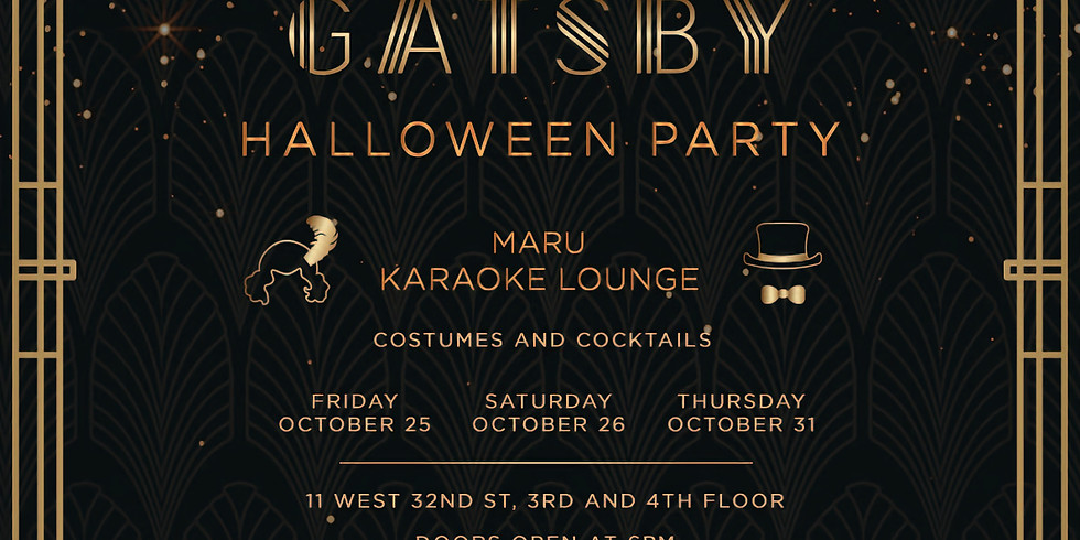 2019 Halloween Party (Great Gatsby)