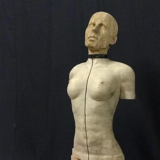 Untitled (Carved torso)