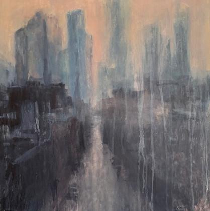 "Ken Karlic ""Veiled City"""