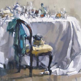 Table Pug Turquoise