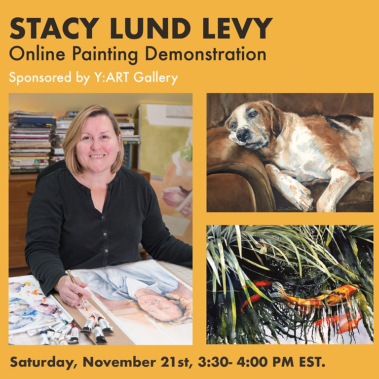 Stacy Lund Levy Painting Demo
