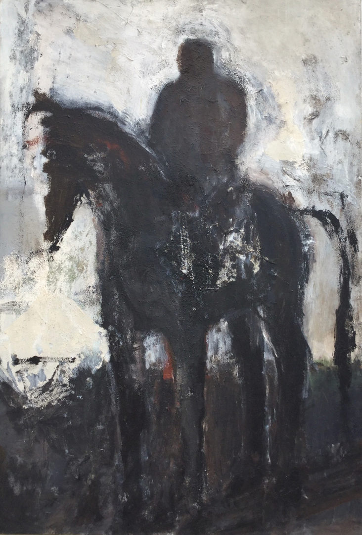 "Ruth Pettus ""Horse and Rider"""
