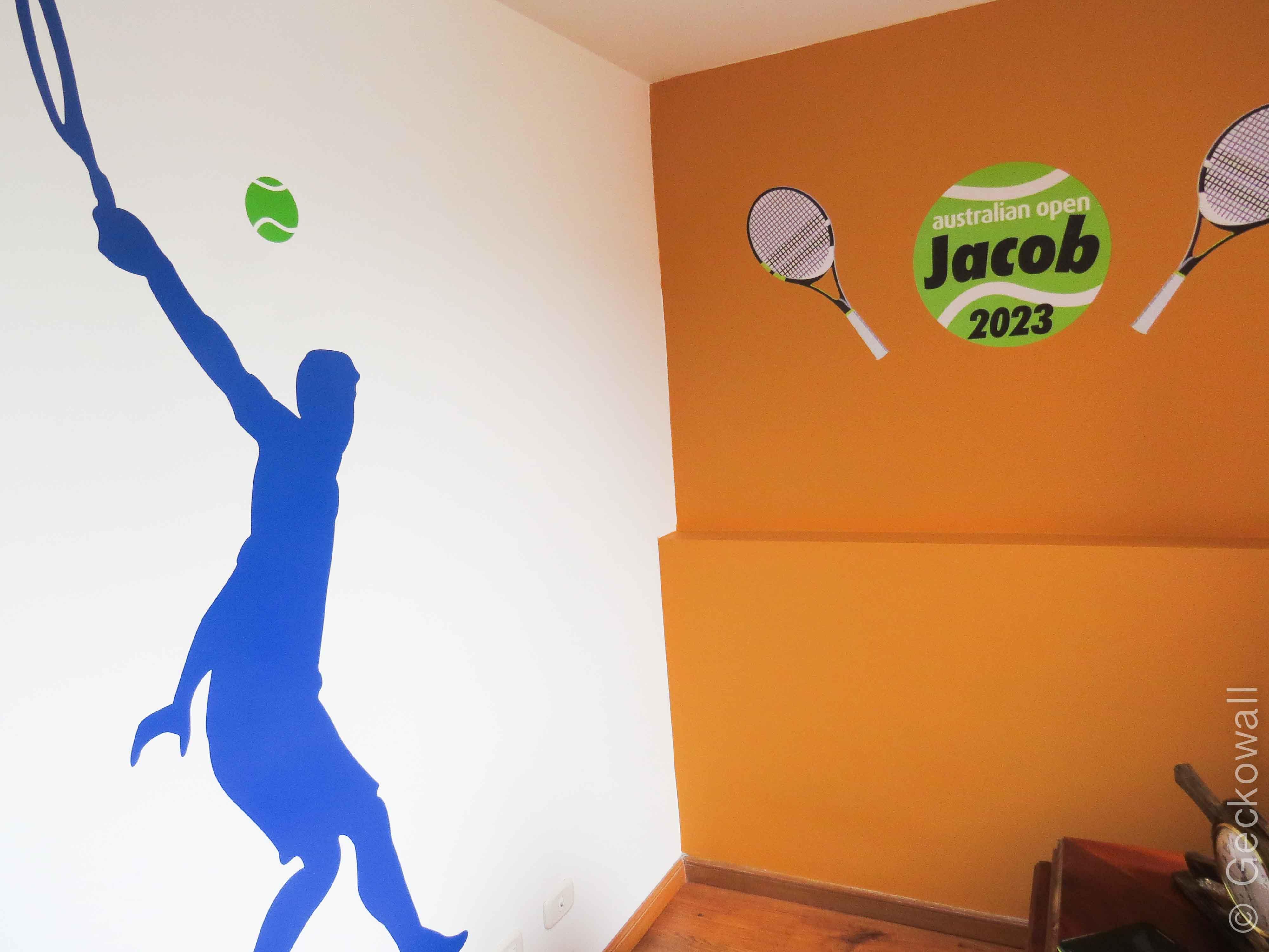 Vinilo Decorativo - Deporte Tennis