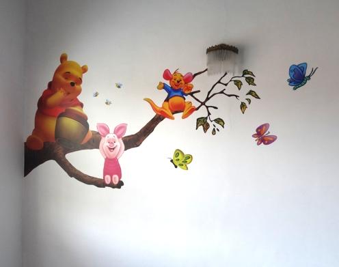 Vinilo Impreso Infantil Winnie Pooh
