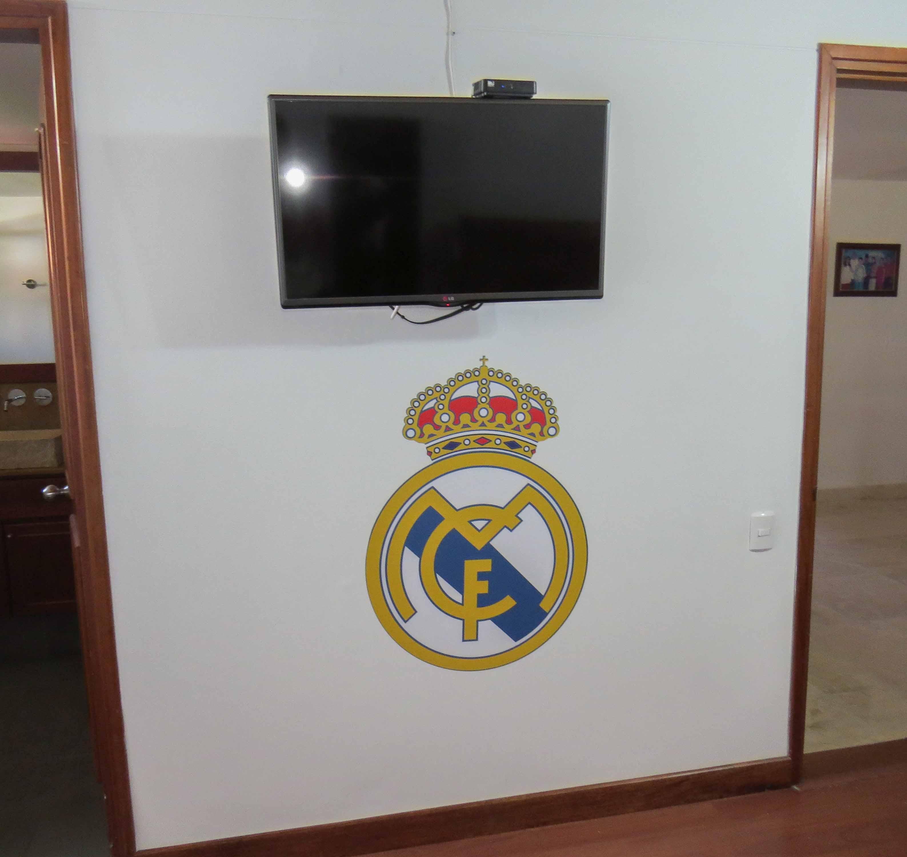 Vinilo Impreso Real Madrid