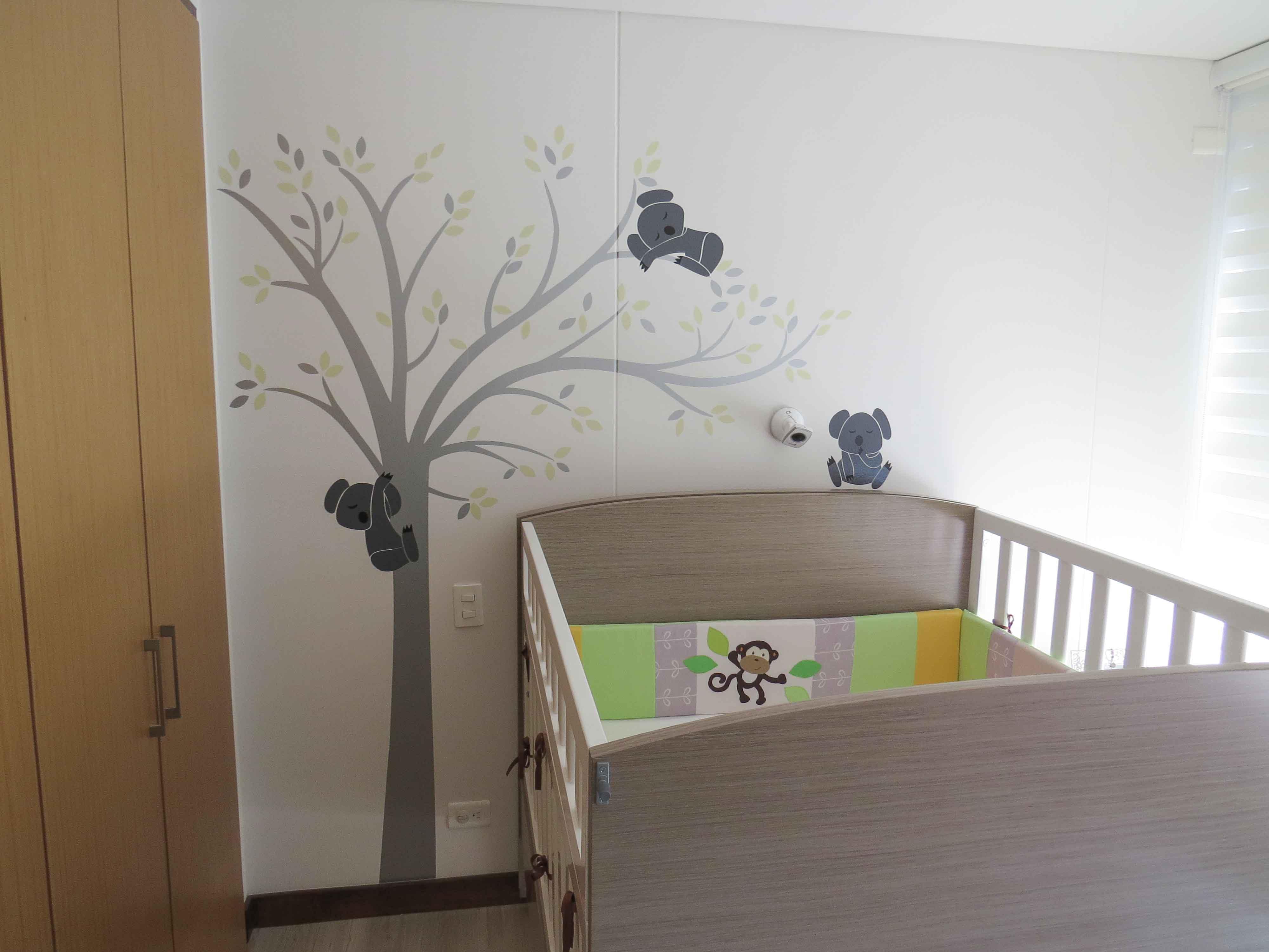 Vinilo Decorativo Infantil Koalas