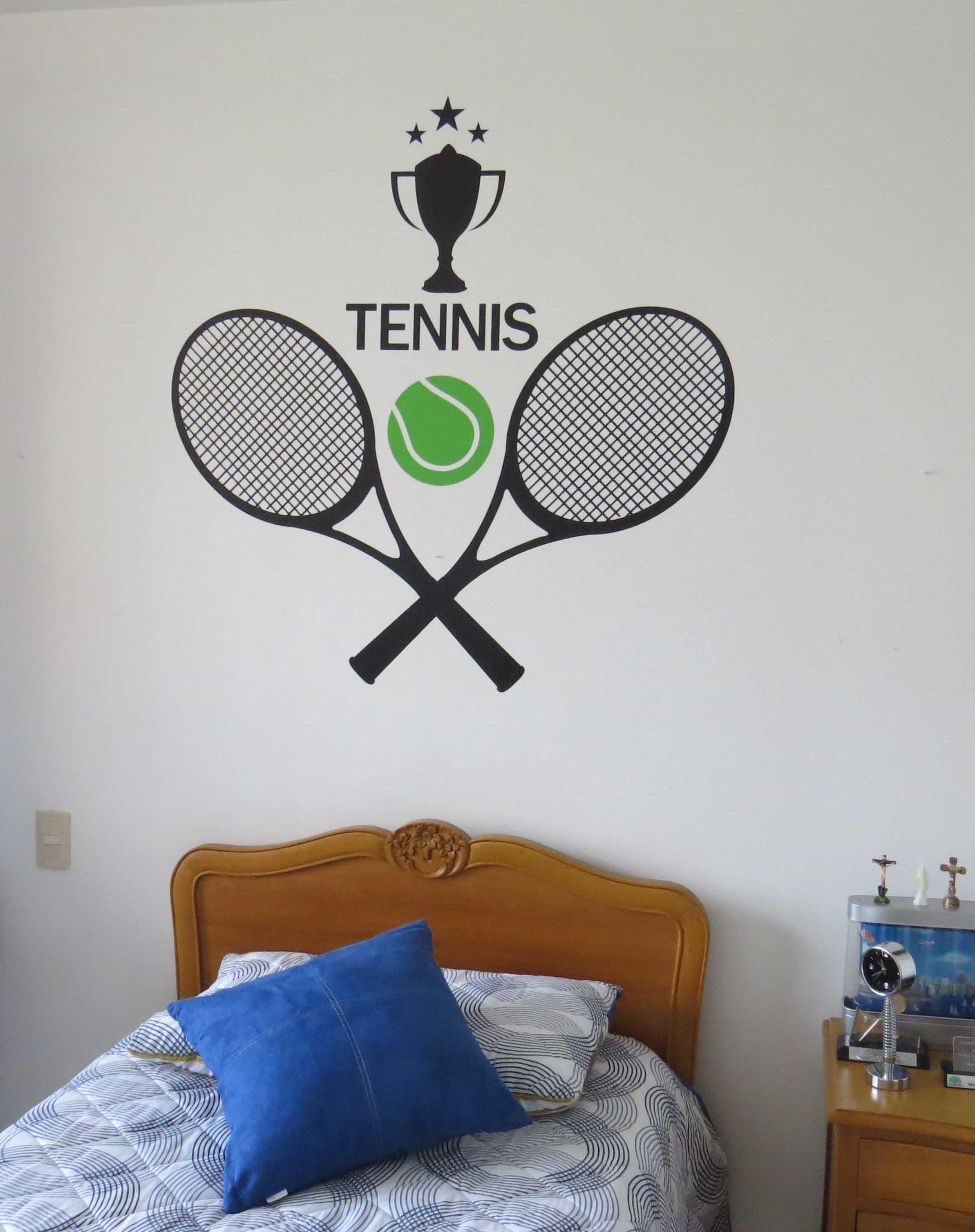 Vinilo Decorativo Tennis