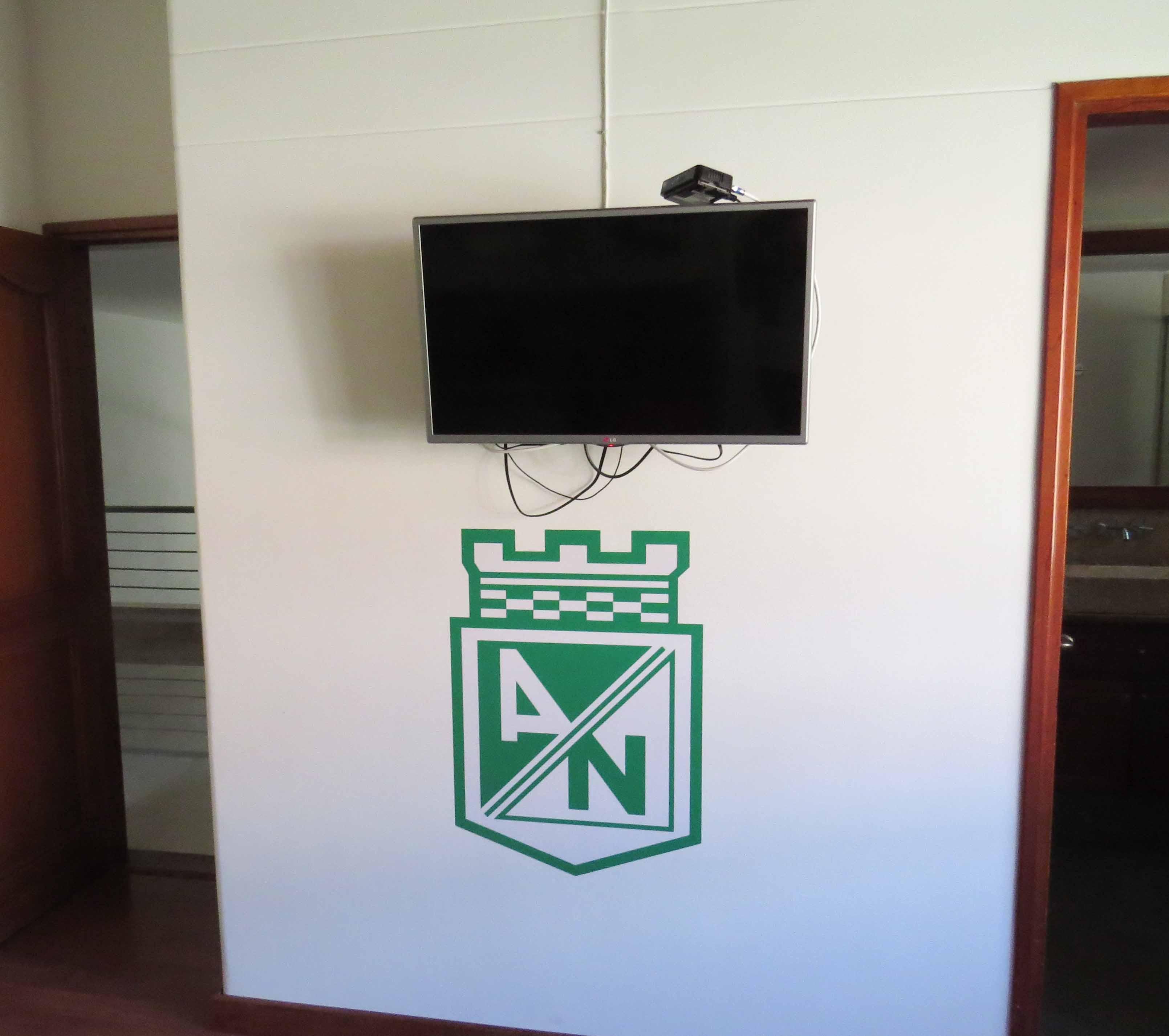 Vinilo Decorativo Atletico Nacional