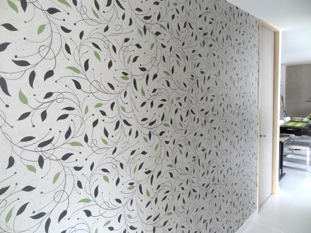 Mural Tapiz Floral