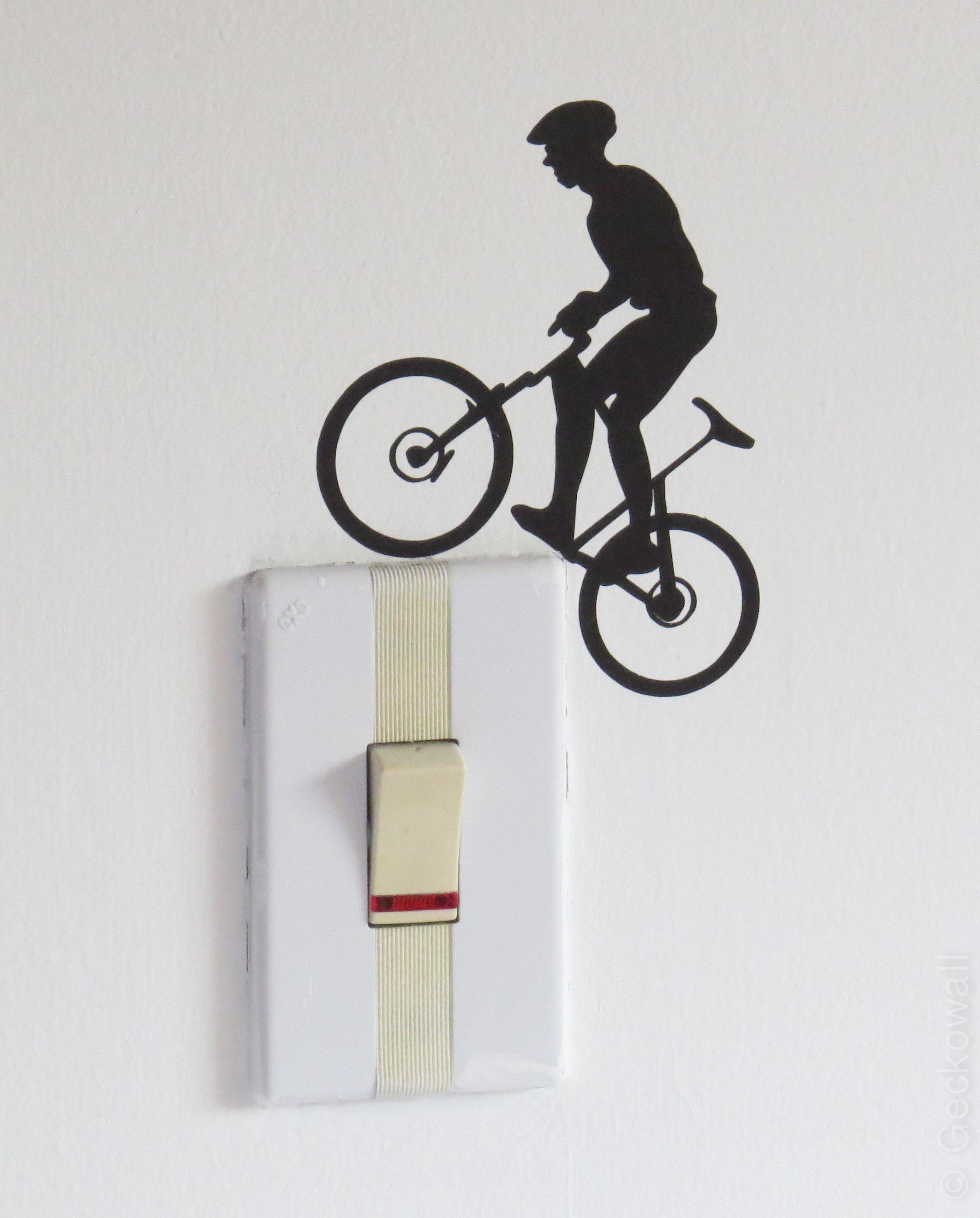 Vinilo para interruptor Bicicleta