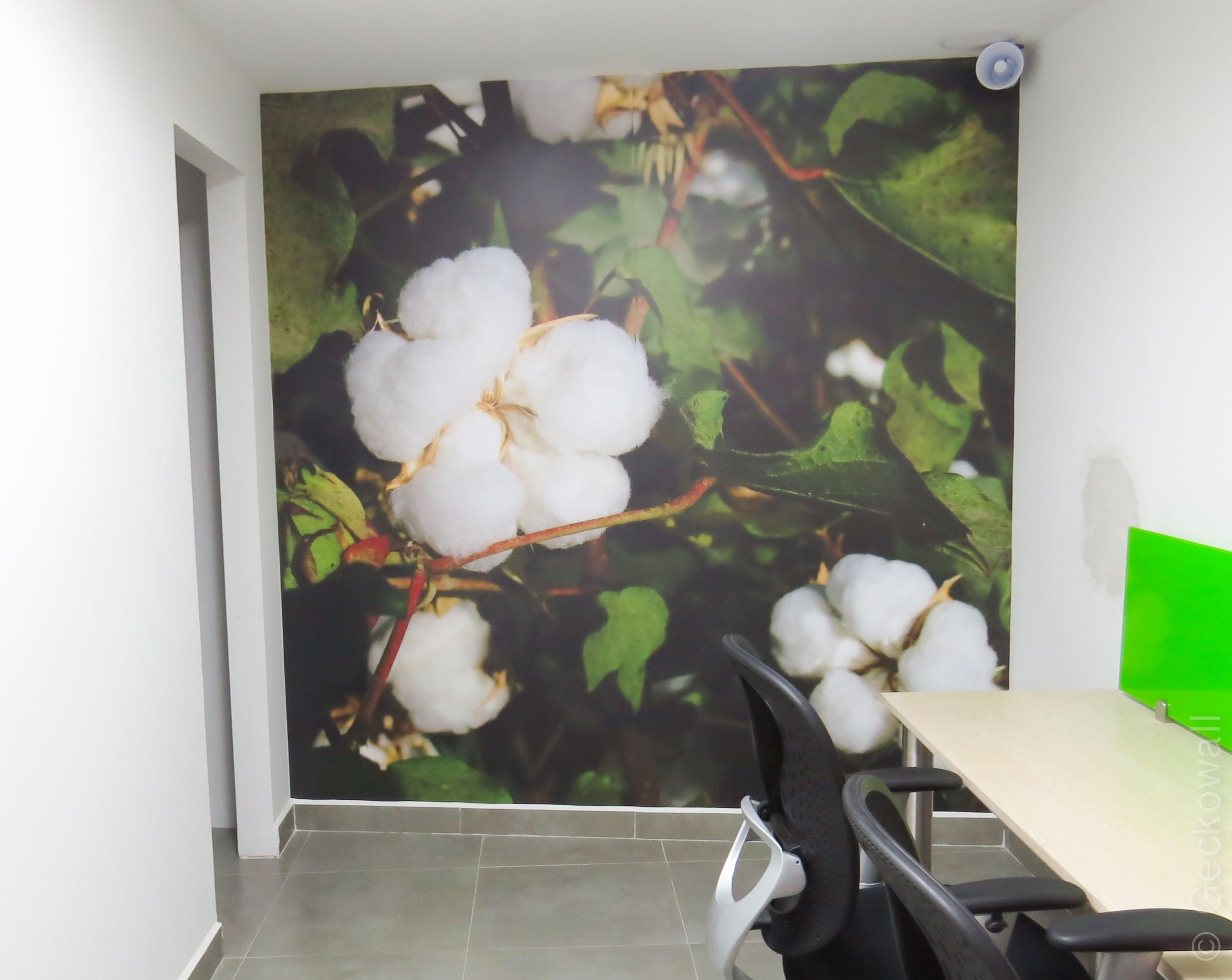 Mural Sembrado de Algodón