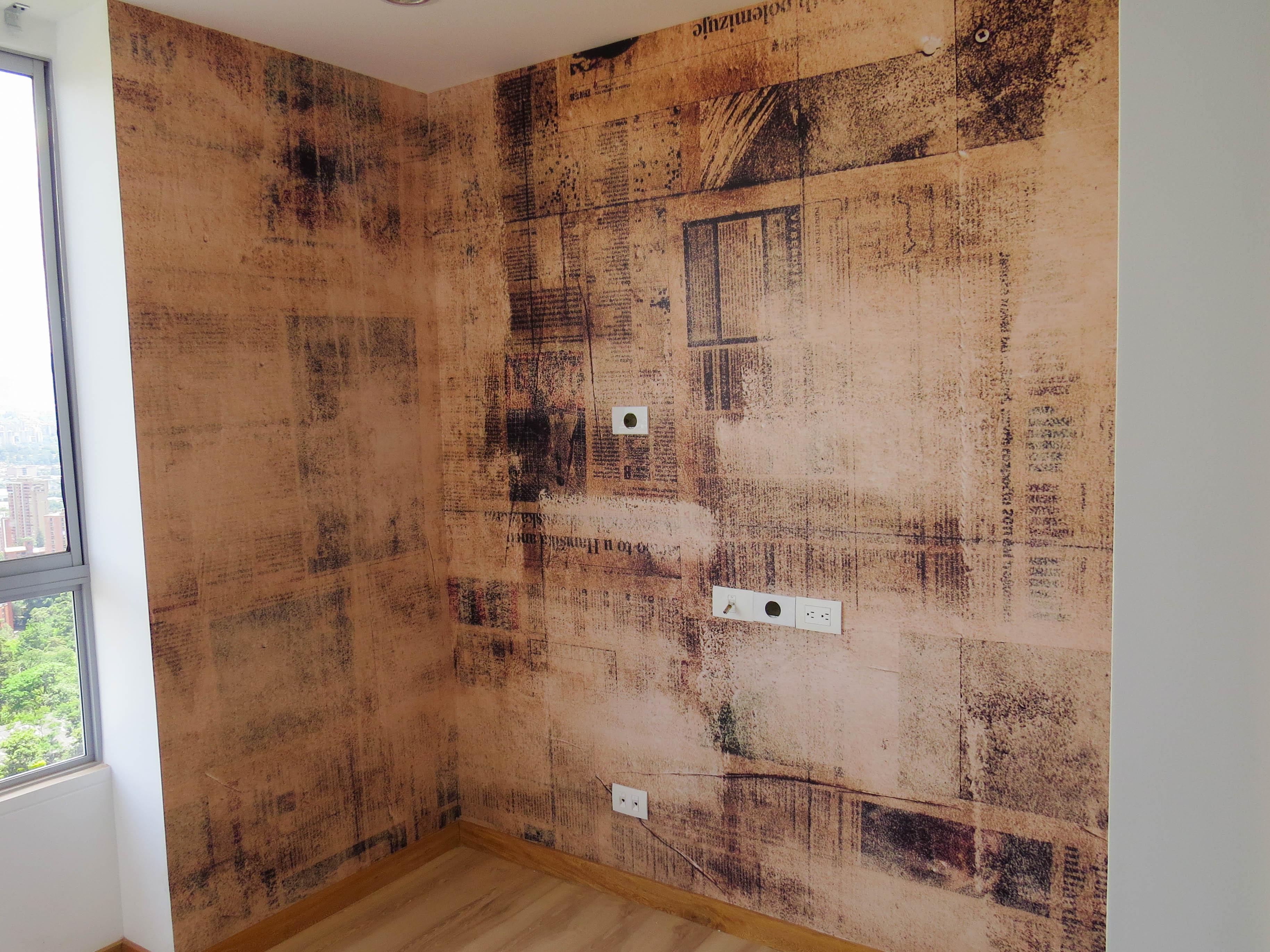 Foto Mural Textura Periodico