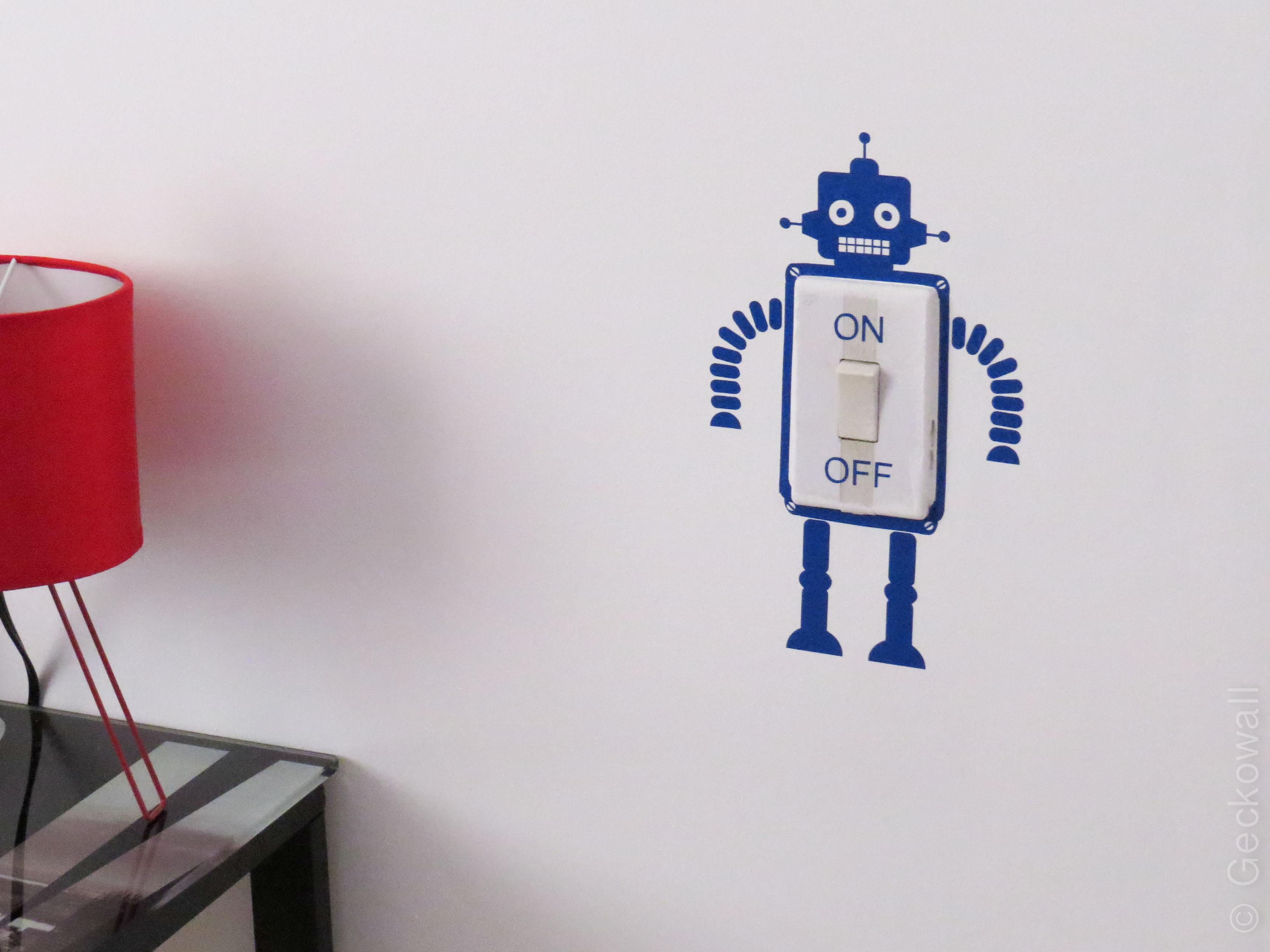 Vinilo Decorativo detalle Robot