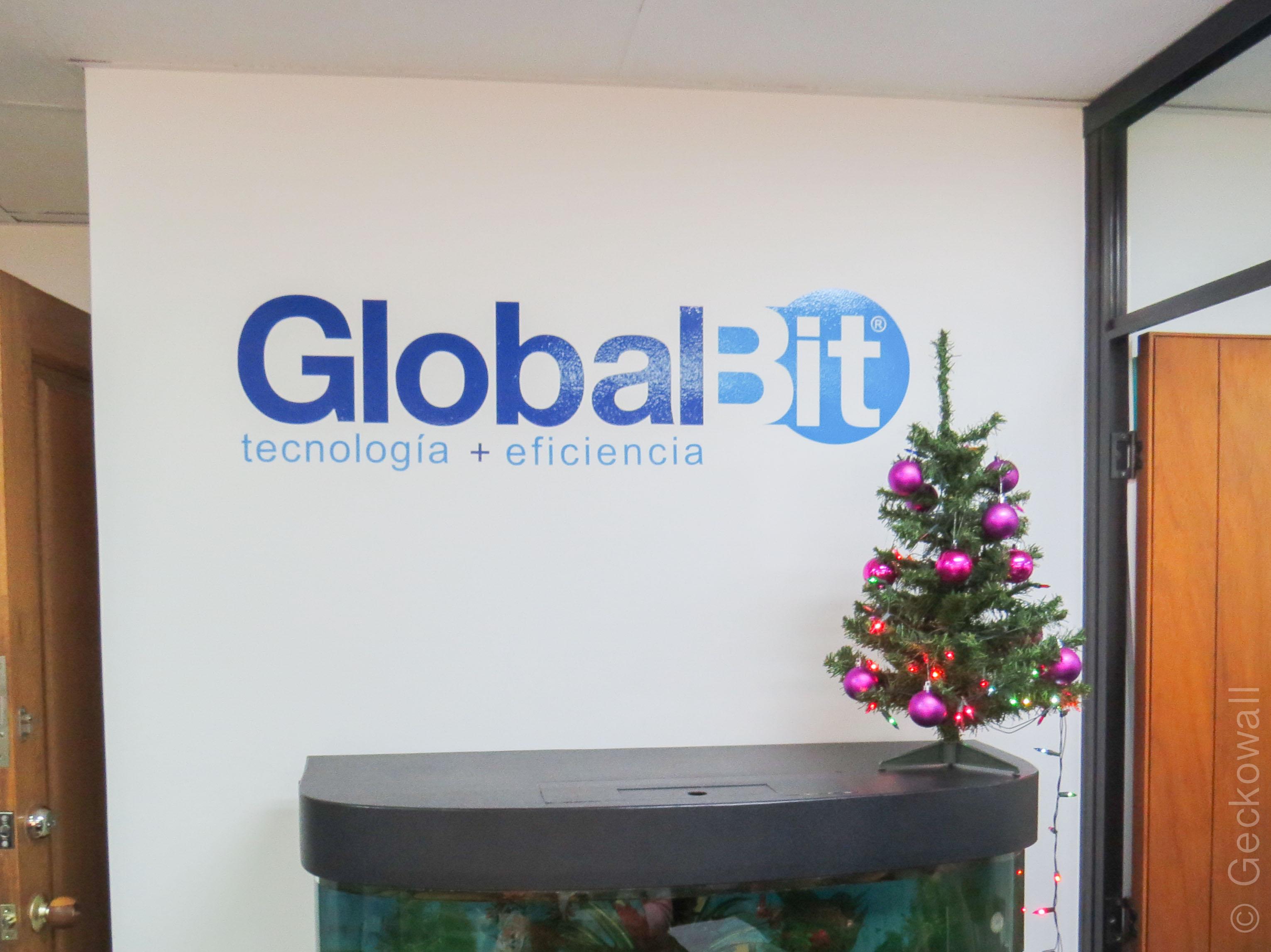 Vinilo Logo GlobalBit