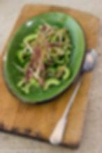 koken met Marieke komkommersalade en aar