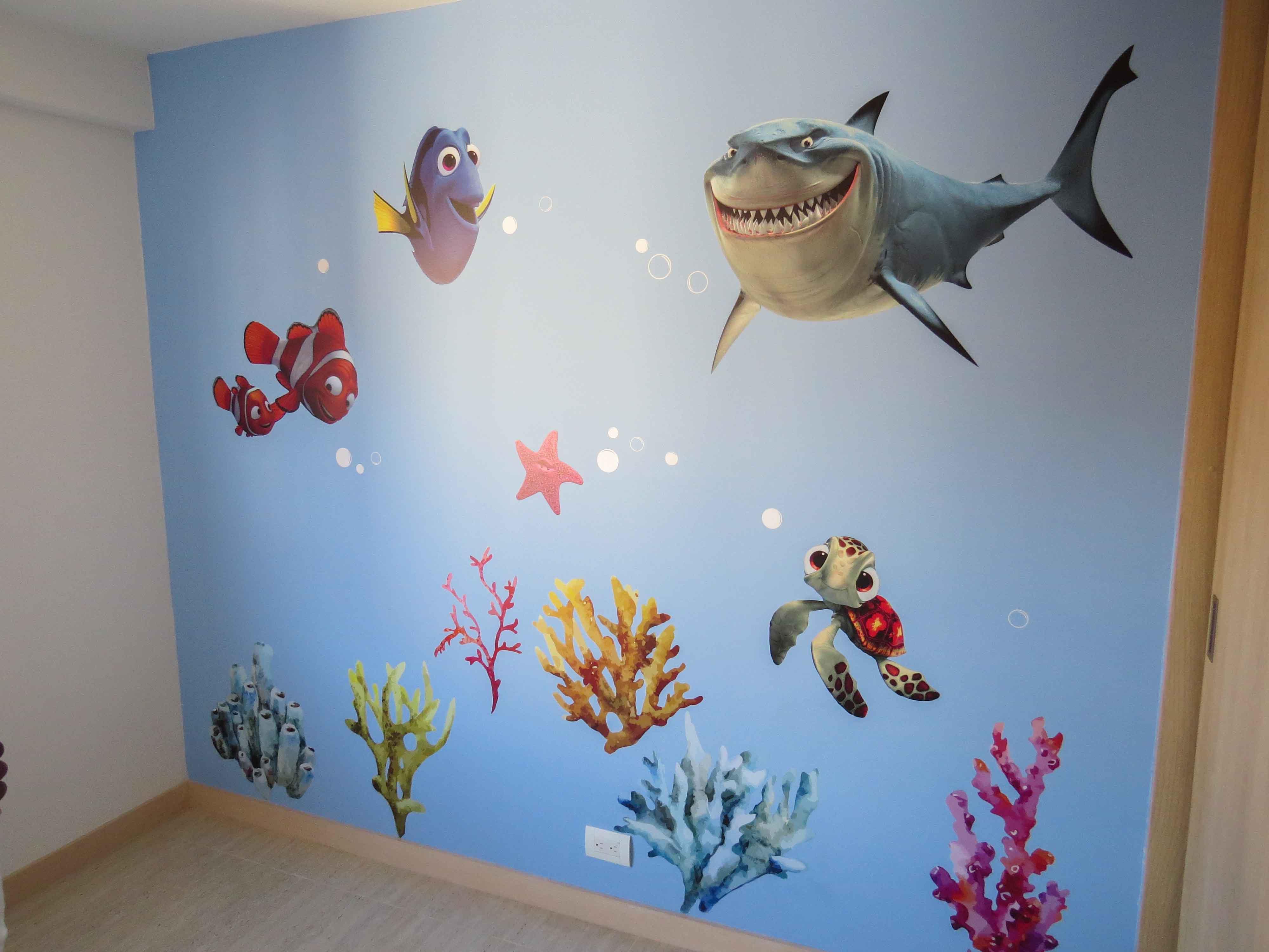 Mural Infantil Nemo
