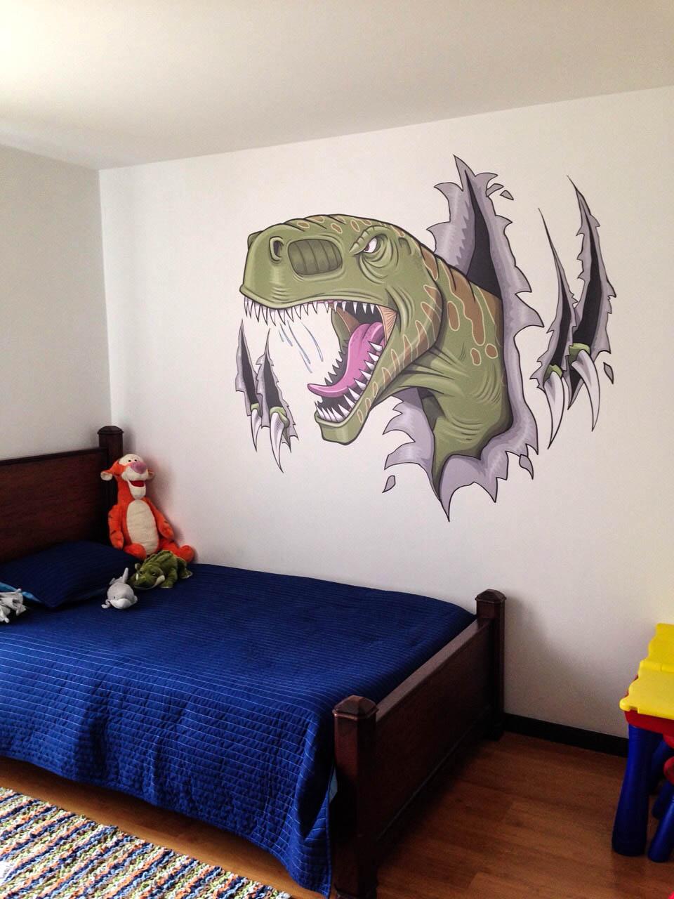 Vinilo Impreso Dinosaurio