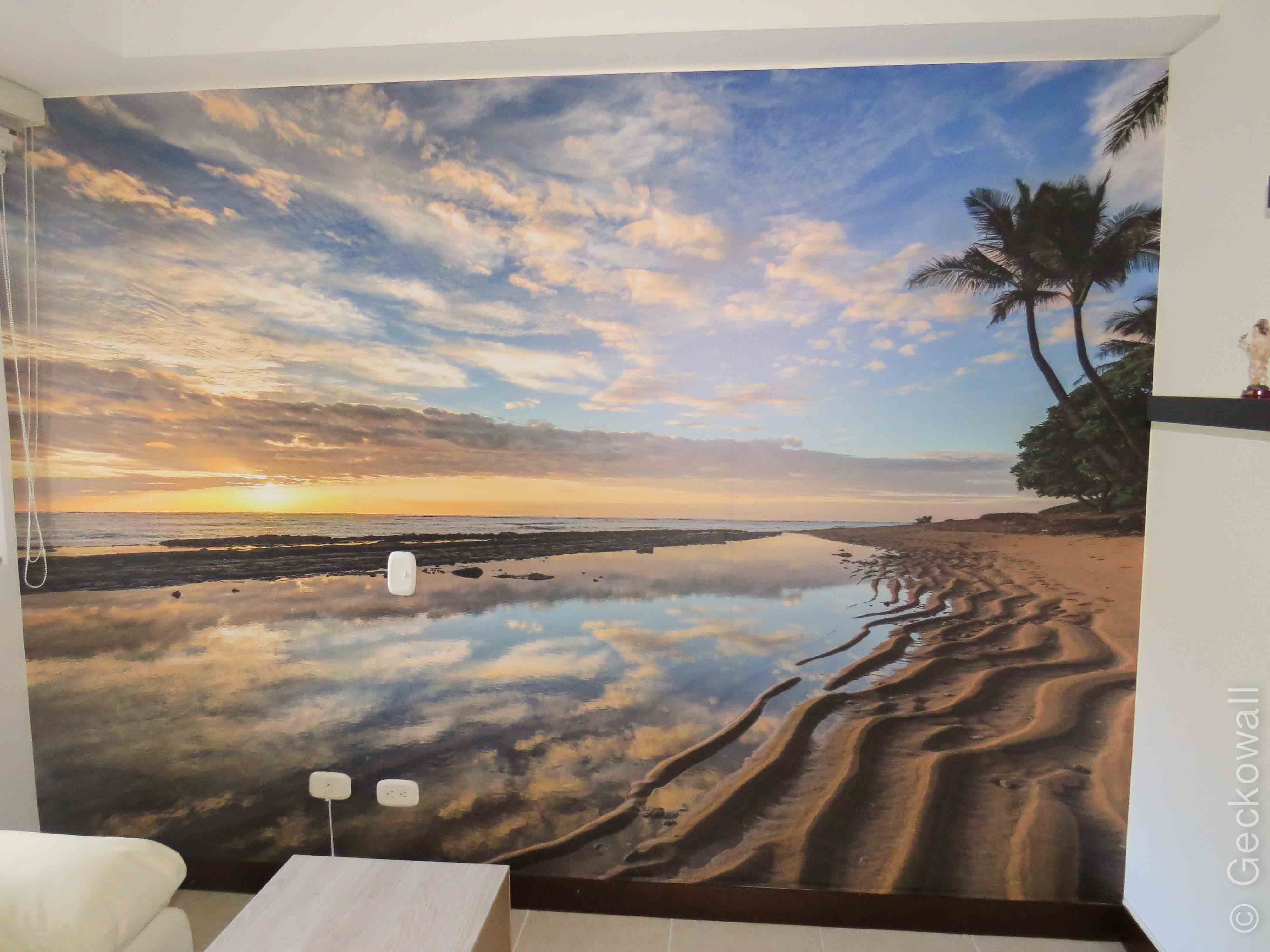Mural Decorativo Playa