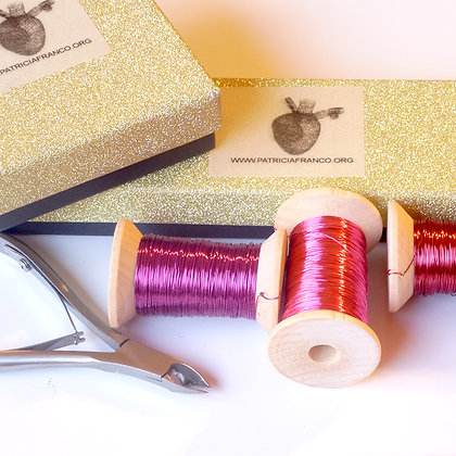 Ruby Knitting Wire KIT
