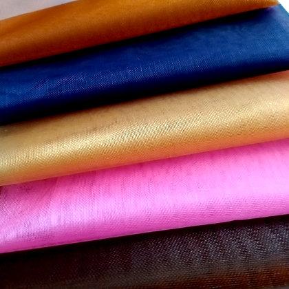 Shibori Organza fabric - 5 colors