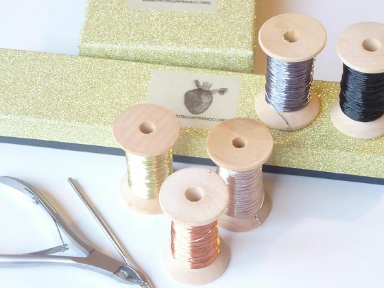 Precious Knitting Wire KIT + Leaf DIY