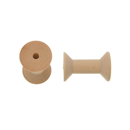 Wooden Spools Bobbins for Wire & Thread