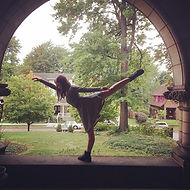 Me in arabesque
