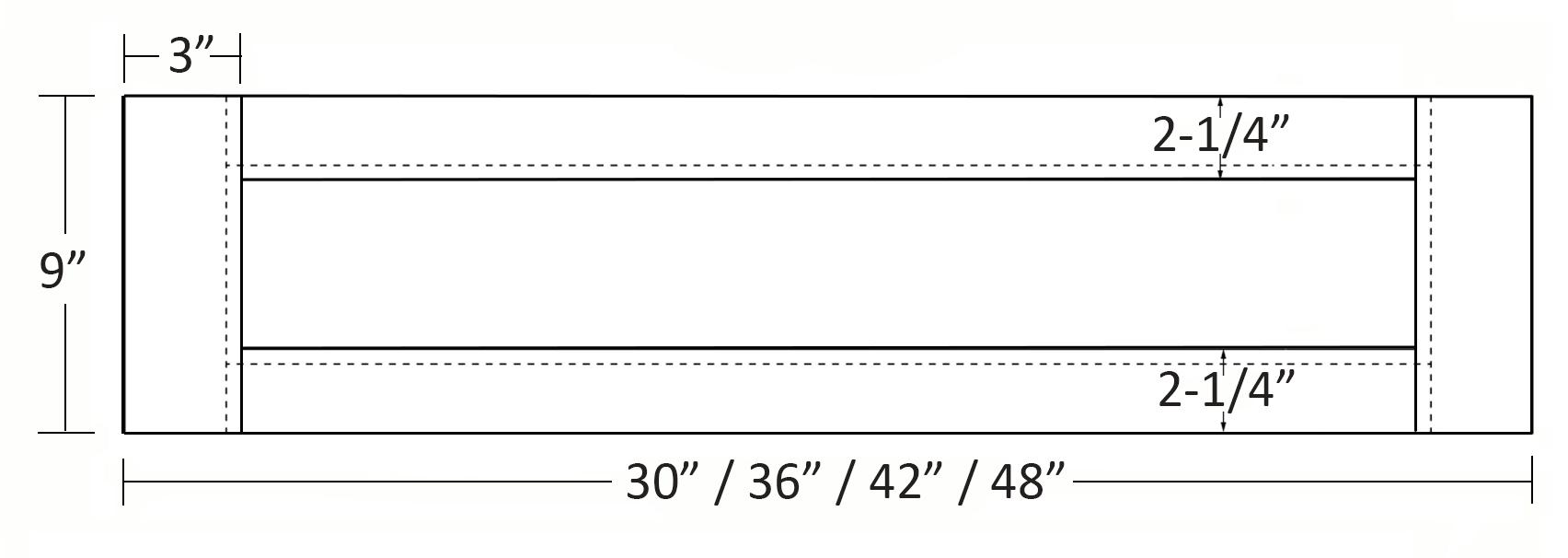 SY-VA-6052 Linedrawing