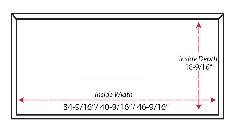 SY-WSLBA Shiplap Box Arch Hood  (bottom view)