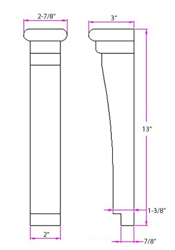 SY-CA-8 Linedrawing
