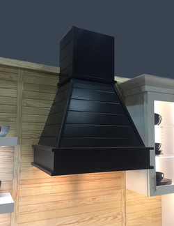 Castlewood Shiplap smooth Chimney Hood from KBIS