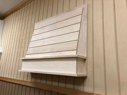 Smooth Shiplap Hood Front