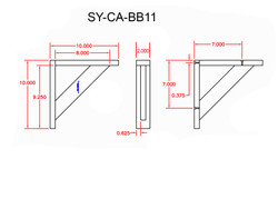 SY-CA-BB11 Line Drawing