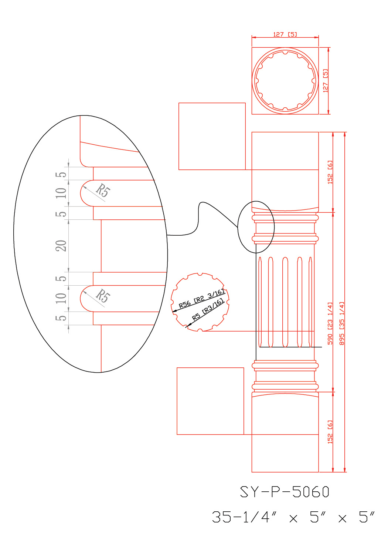 SY-P-5060 drawing
