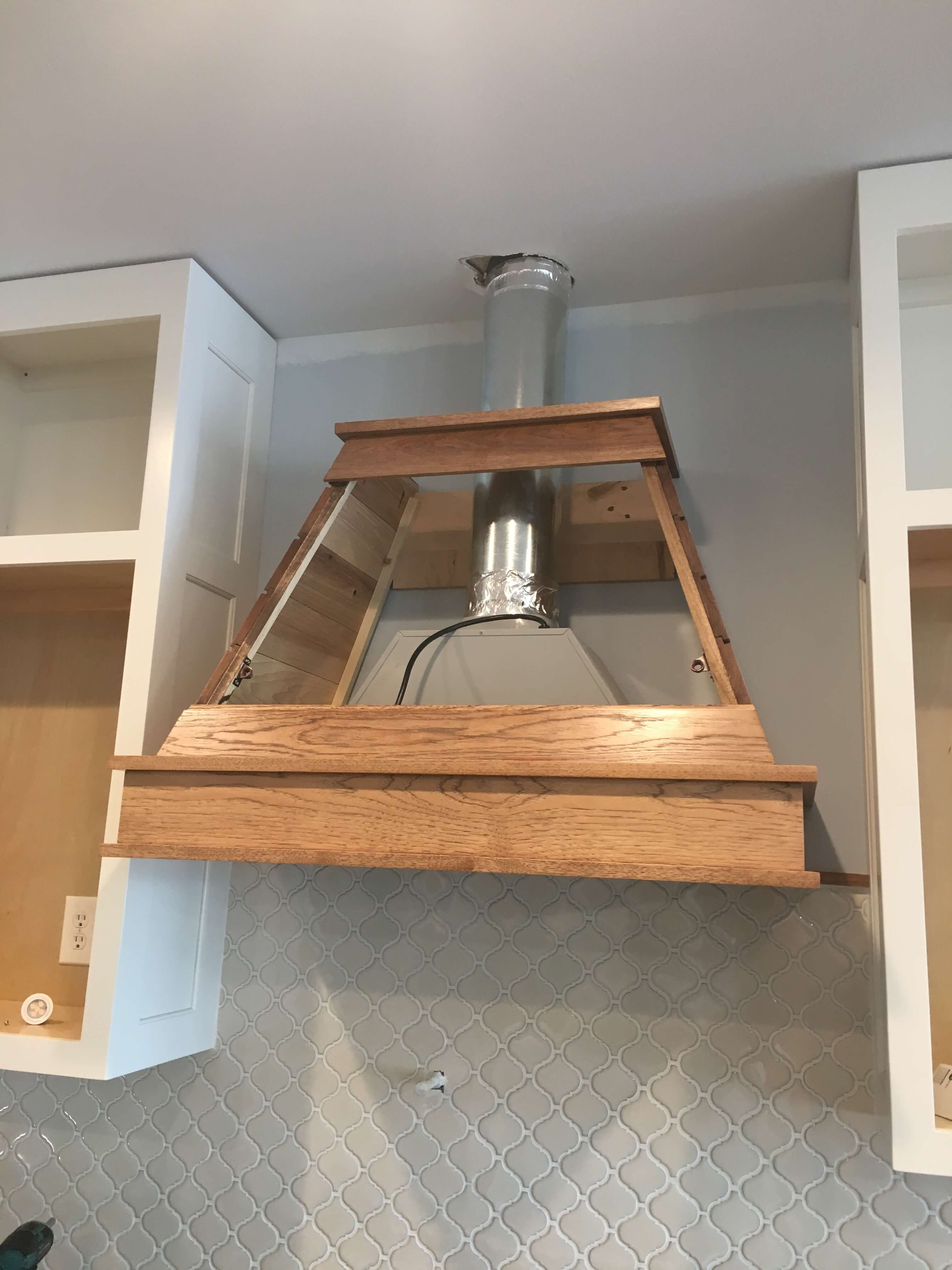 Shiplap Hood Removable Access