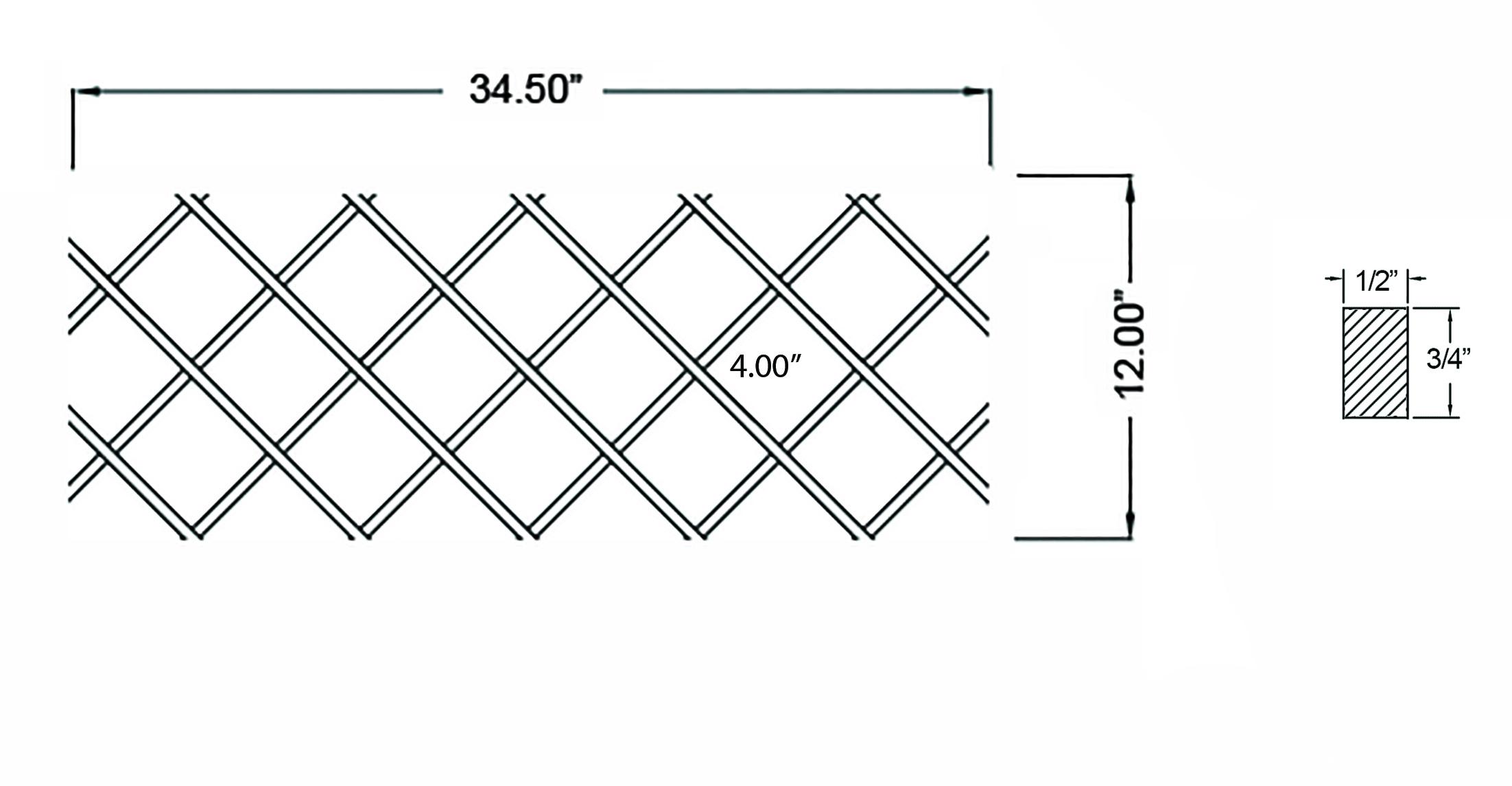W-WR-12X345 Line Drawing