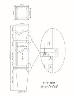 SY-P-5058 drawing