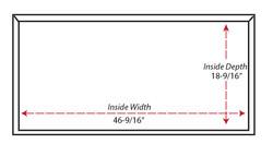 SY-WMC Contemporary Mantel Hood  (bottom view)