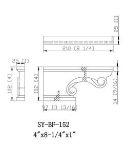 SY-PF-152 drawing