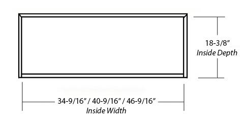 Castlewood Epicurean Arch Corbel Hood SY-WCVAC (bottom view)