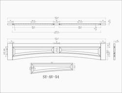 SY-AV-54 Line drawing
