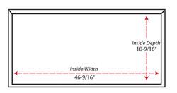 SY-WMSL Shiplap Mantel Hood  (bottom view)