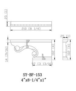 SY-PF-153 drawing