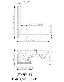 SY-PF-151 drawing