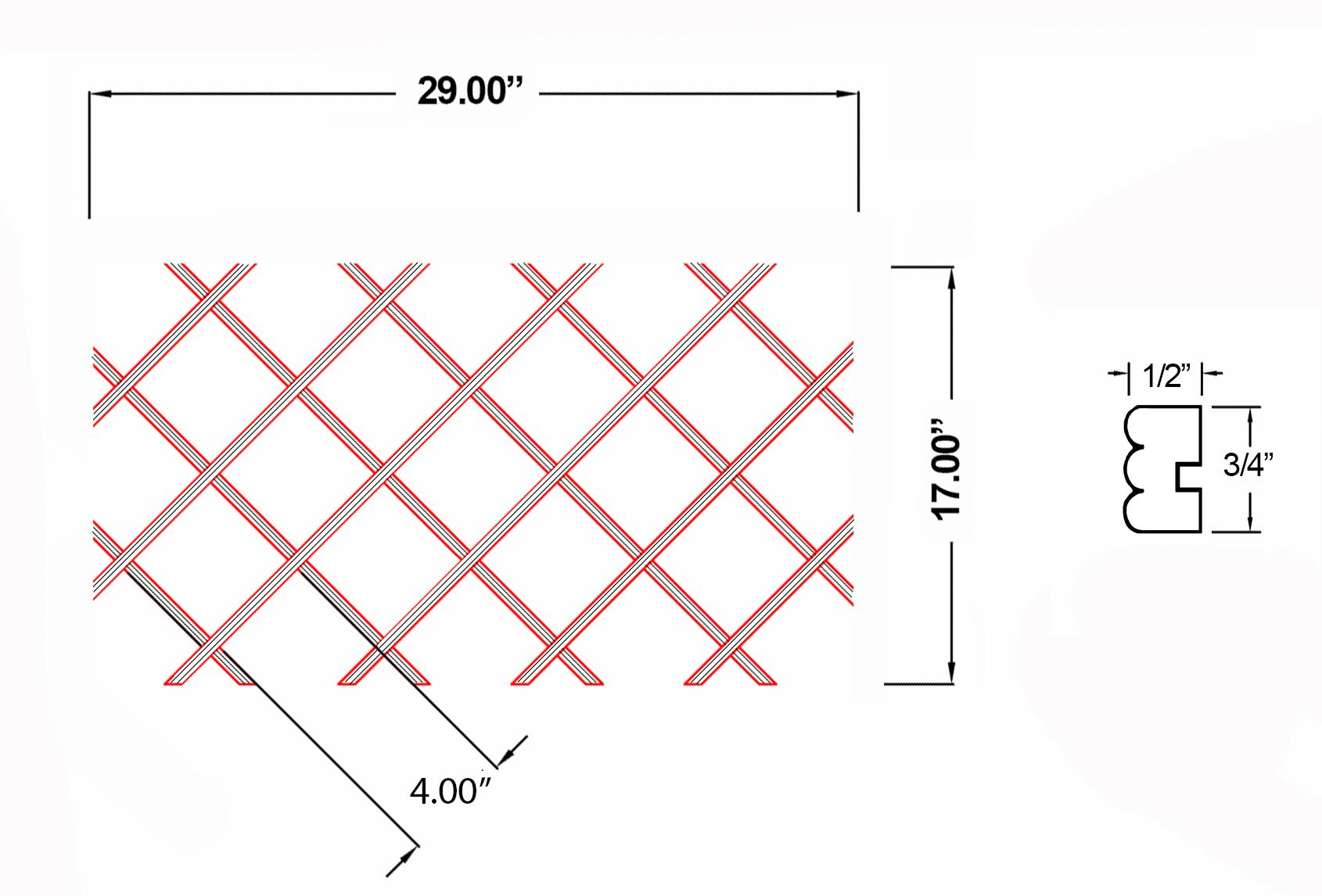 W-WR-BD17X29 Line Drawing